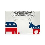 Authoritarians Rectangle Magnet (10 pack)