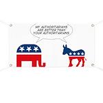 Authoritarians Banner