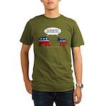 Authoritarians Organic Men's T-Shirt (dark)