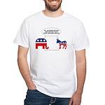 Authoritarians White T-Shirt