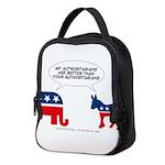 Authoritarians Neoprene Lunch Bag
