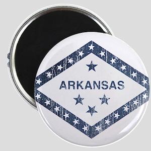 Vintage Arkansas State Flag Magnet