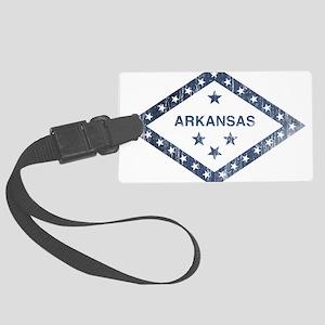 Vintage Arkansas State Flag Luggage Tag