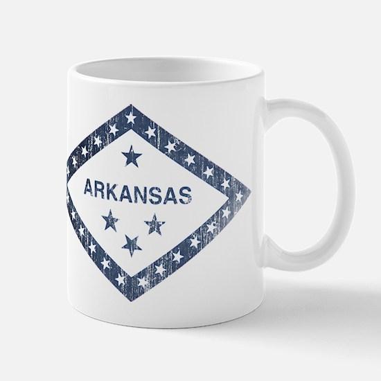 Vintage Arkansas State Flag Mug