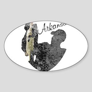Arkansas Fishing Sticker