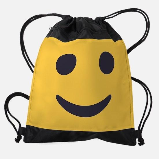 Smile Emoji Face Drawstring Bag