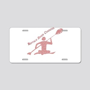 Buffalo River Canoe Aluminum License Plate