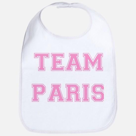 Team Paris Light Pink Bib