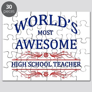 World's Most Awesome High School Teacher Puzzle