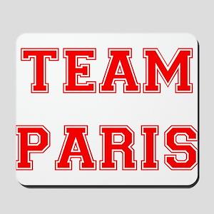 Team Paris Red Mousepad