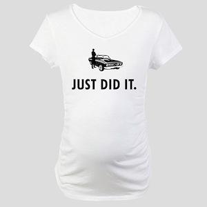 Muscle Car Maternity T-Shirt