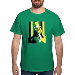 Guerrilla Artfare Volume 02 In Green T-Shirt