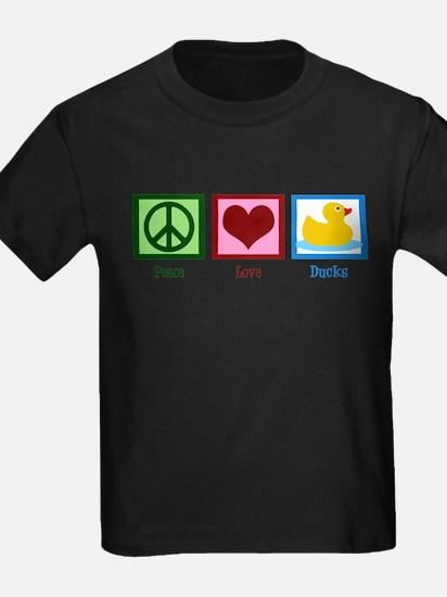 Peace Love Ducks T-Shirt