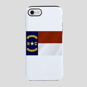 North Carolina Flag iPhone 7 Tough Case