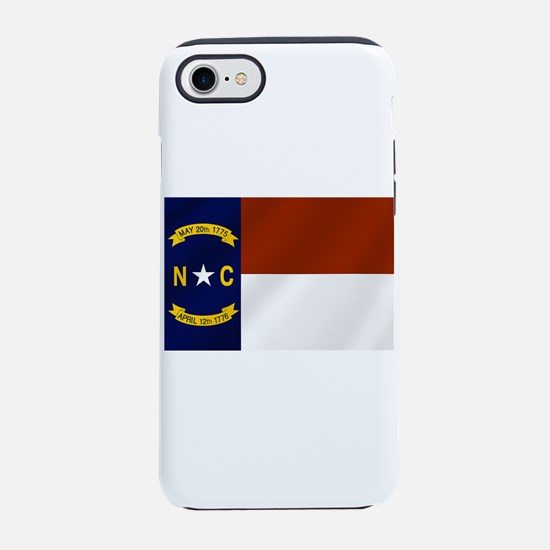 North Carolina Flag iPhone 7 Tough Case