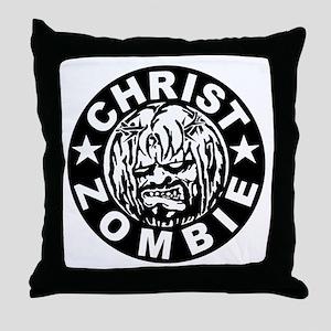 Christ Zombie Throw Pillow