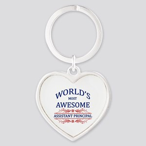 World's Most Awesome Assistant Principal Heart Key