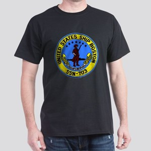 SSN 703 USS Boston Dark T-Shirt