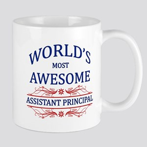 World's Most Awesome Assistant Principal Mug