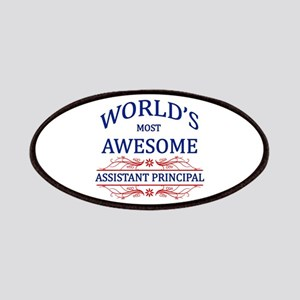 World's Most Awesome Assistant Principal Patches