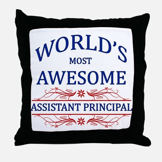 World's Most Awesome Assistant Principal Throw Pil