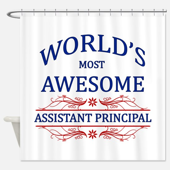 World's Most Awesome Assistant Principal Shower Cu