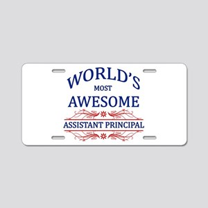 World's Most Awesome Assistant Principal Aluminum