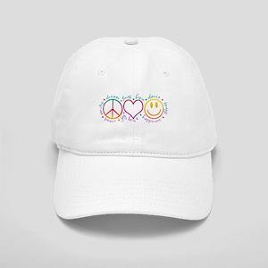 Peace Love Laugh Cap
