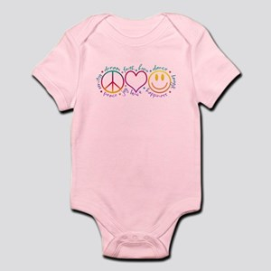 Peace Love Laugh Infant Bodysuit