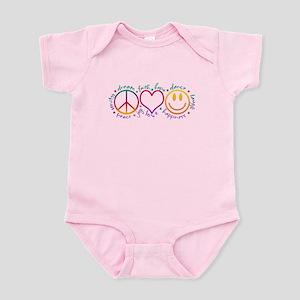 Peace Love Laugh Infant Bodysuit