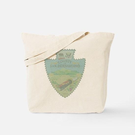 San Bernardino Arrowhead Tote Bag