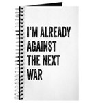Im already against the next WAR Journal