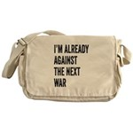Im already against the next WAR Messenger Bag