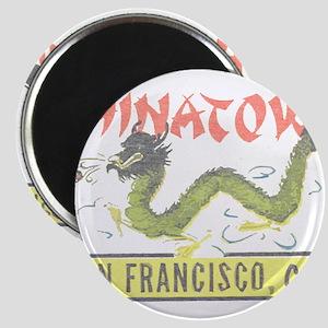 Vintage Chinatown Magnet
