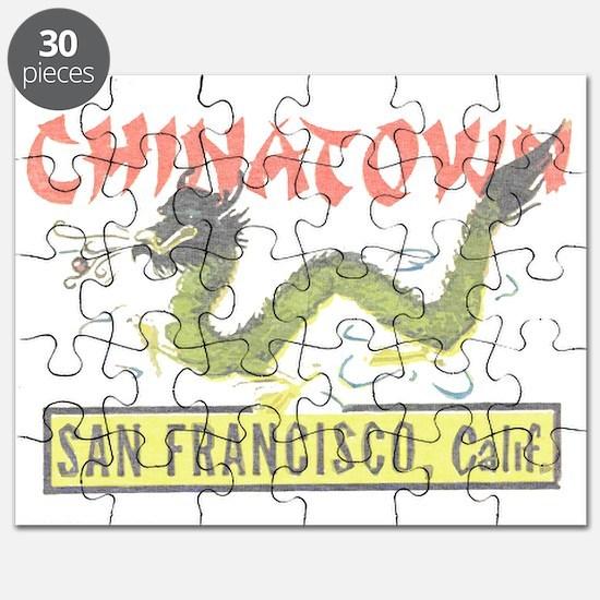 Vintage Chinatown Puzzle