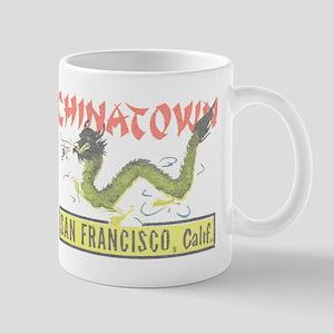 Vintage Chinatown Mug