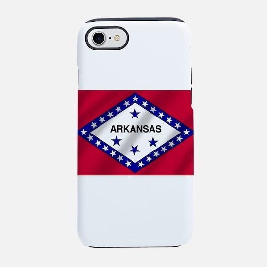 Arkansas State Flag iPhone 7 Tough Case
