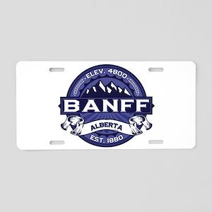 Banff Midnight Aluminum License Plate