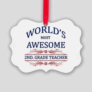 World's Most Awesome 2nd. Grade Teacher Picture Or