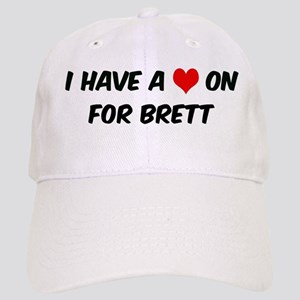 Heart on for BrettHeart on fo Cap