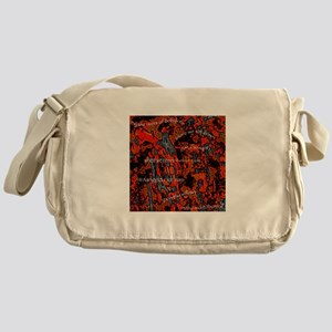 Paying Homage to Bob Marley Messenger Bag