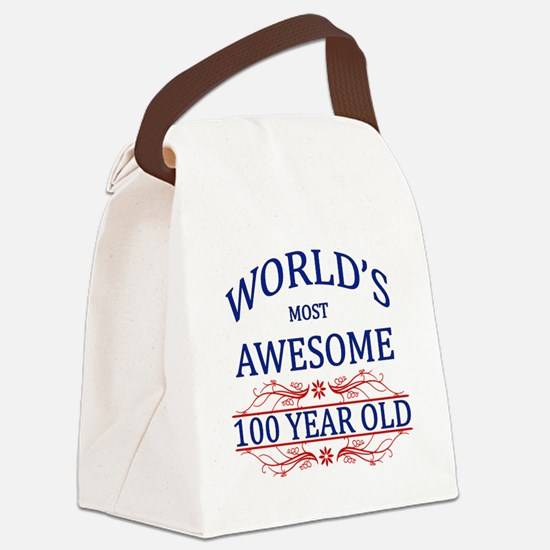 World's Most Awesome 100 Year Old Canvas Lunch Bag