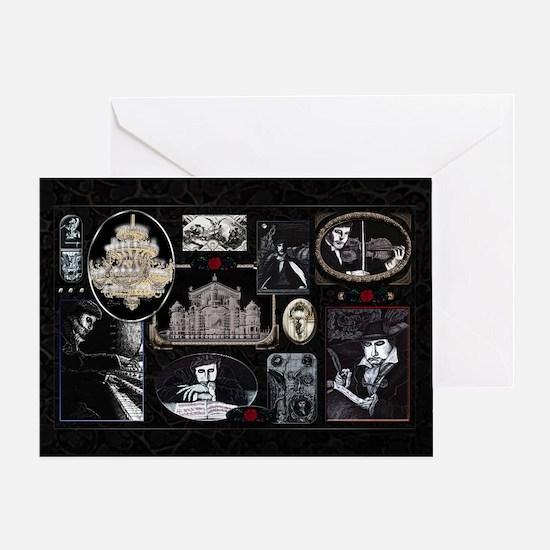 Phantom Phantasia Holiday Card Greeting Cards