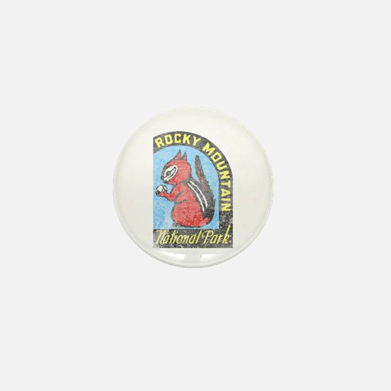 Rocky Mountian Park Mini Button