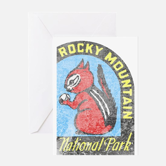 Rocky Mountian Park Greeting Card