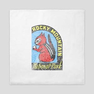 Rocky Mountian Park Queen Duvet