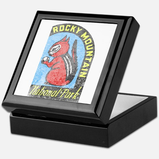 Rocky Mountian Park Keepsake Box