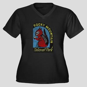Rocky Mountian Park Plus Size T-Shirt