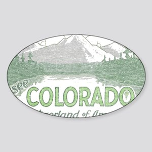 Vintage Colorado Mountains Sticker