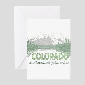 Maroon plain greeting cards cafepress vintage colorado mountains greeting card m4hsunfo